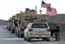 Bomb attack targets US-led coalition convoy west of Iraq