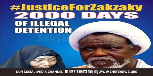 Free Zakzaky now, 2000 days in detention isn't 20 days!