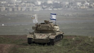 Israel claims destroying Syrian army post in occupied Golan Heights