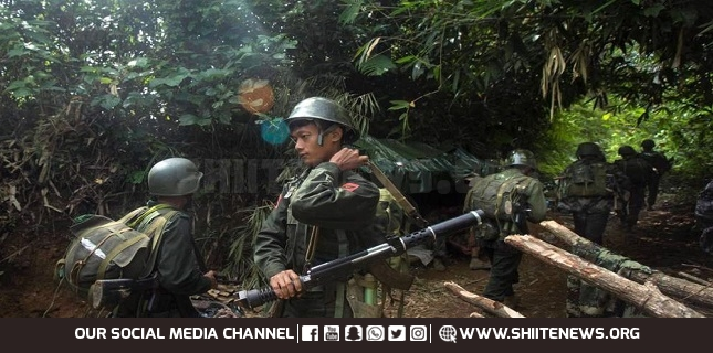 Myanmar escalation: Locals say military forces burned down village