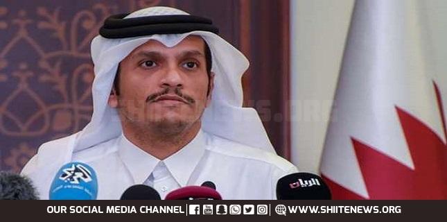 Qatari Foreign Minister Mohammed bin Abdulrahman bin Jassim Al Thani