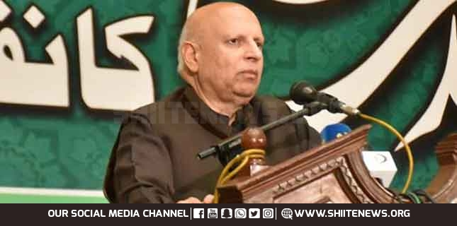 Israel's attack on innocent Palestinians again is the worst form of terrorism, Governor Punjab