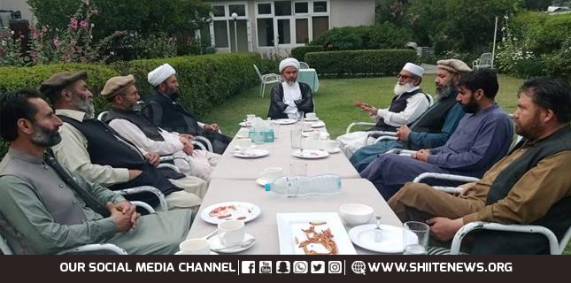 Important meeting of leaders of Islami Tahreek Pakistan and Jamaat-e-Islami in Gilgit