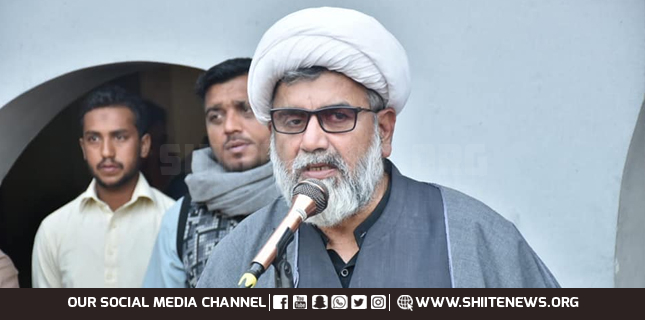 Marja'iyyat failed all nefarious plans of ISIS, Israel and USA, Allama Raja Nasir Abbas