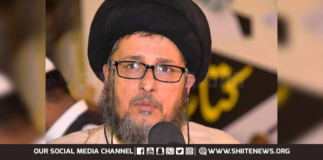 Target killing of Shia community in Punjab and fourth schedule is a link in the same conspiracy, Allama Sabzwari
