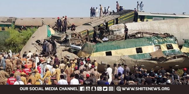 Ghotki train accident, death toll rises further