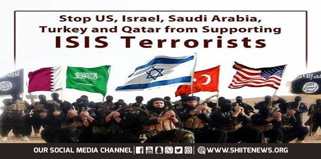 US supporting terrorist