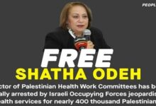 Hundreds of rights organizations, advocates urge UN to help release Palestinian activist