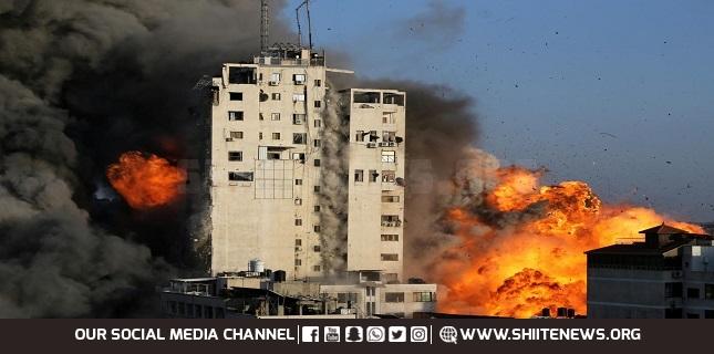 Israeli warplanes bomb several locations across Gaza