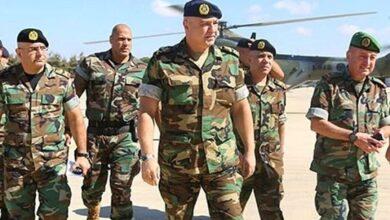 Lebanon army warns against Israeli moves on border