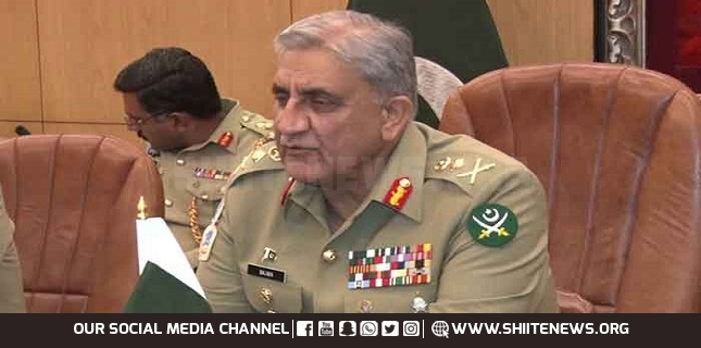 Pak-Army and National Leadership focuses on Baluchistan, General Bajwa