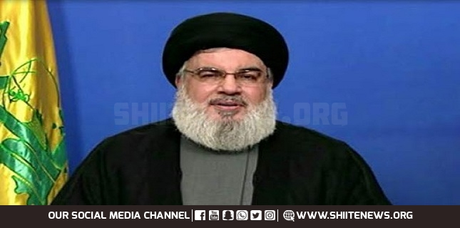 Pro-resistance media outlets promote rights of Palestinians, humanitarian values: Nasrallah