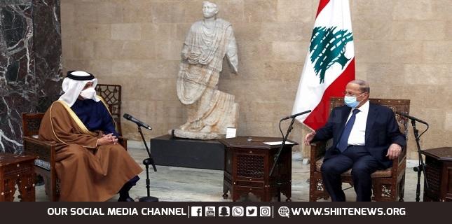 Qatari FM Visits Lebanon's House Speaker, PM-designate