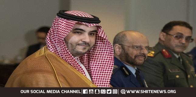 Saudi Arabia's Khalid bin Salman meeting top US officials