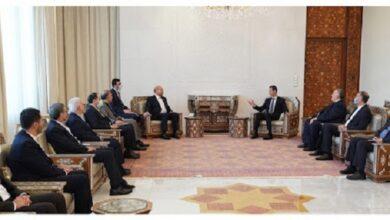 Syrian President Assad: Iran is Syria's Key Partner