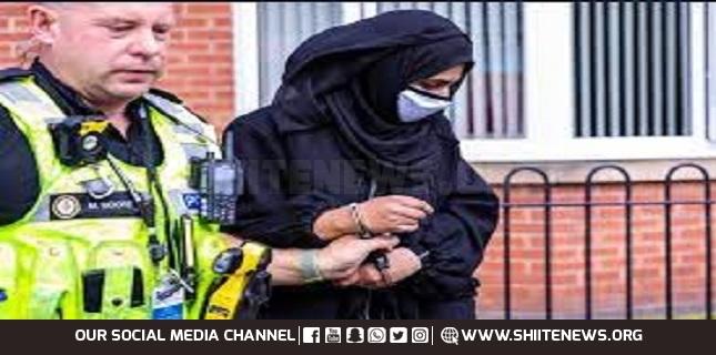UK Muslim woman arrested