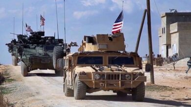 US forces in Eastern Syria come under rocket barrage using 'new projectile'