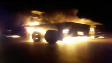 US logistical convoys hit in several locations across Iraq+Video