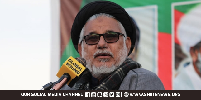 Sectarian sentiments are being ignited for riot, Allama Hasan Zafar Naqvi