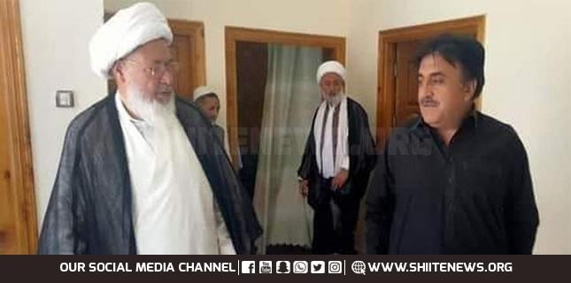 IG Gilgit & Baltistan meets Sheikh Hassan Jafferi