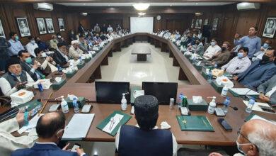 Minister religious affairs Sindh Nasir Shah chairs Muharram reception meeting