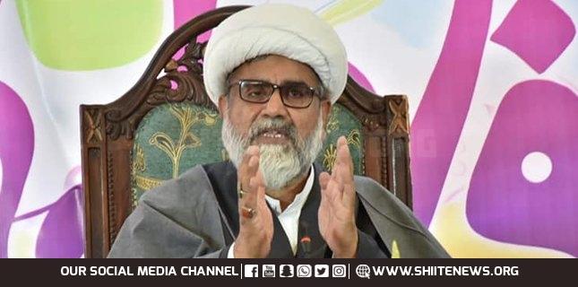 Allama Nasir Abbas greets nation on Eid-e-Ghadeer