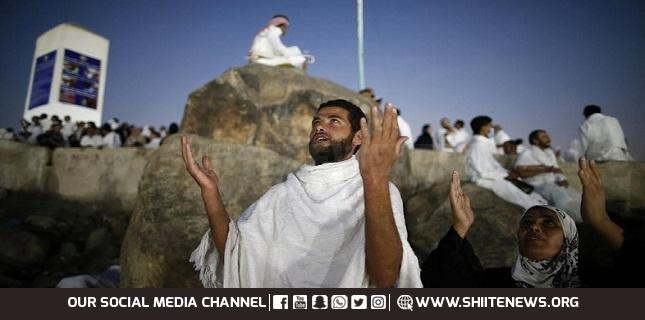 Hajj worshipers