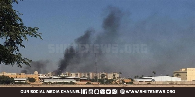 Katyusha rockets land near US embassy in Baghdad's highly fortified Green Zone