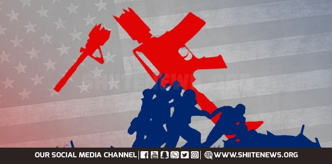 The US hegemonic doctrine shift from invasion to violent extremism
