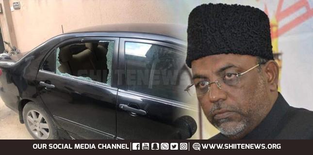 Allama Baqir Zaidi narrow escapes in attack