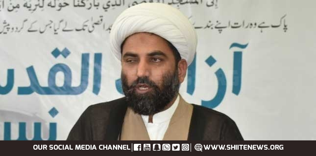 Nation needs unity to combat enemy, Allama Maqsud Domiki