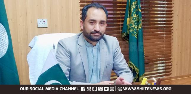 Agriculture Minister of GB Mesum Kazim vows to make GB problems free