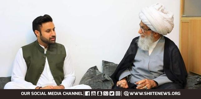 Zulfi Bukhari meets Ayatollah Bashir Najfi in Iraq