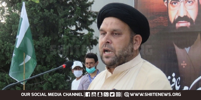 Abduction of Shia persons is reward of patriotism, Allama Waheed Kazimi