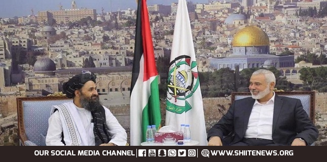 Hamas congratulates Afghans on defeating US, hails Taliban's anti-occupation fight