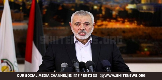 Haniyeh says recent anti-Israel military op proved al-Quds pivot of struggle against Zionist enemy