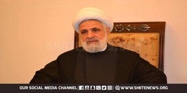Hezbollah Deputy SG Attends Raisi's Swearing-in Ceremony in Tehran