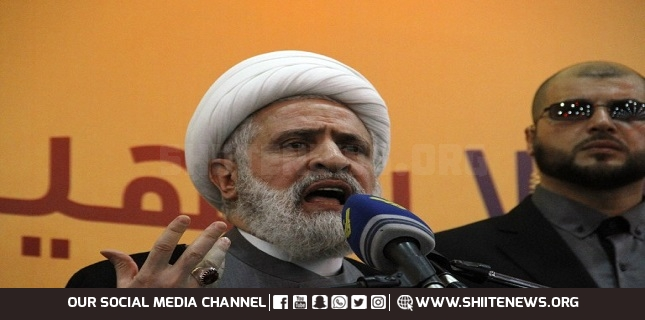 Hezbollah cannot stay silent in face of Israel's aggression on Lebanon: Sheikh Naim