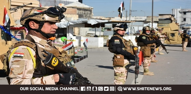 Iraqi forces arrest seven ISIS terrorists