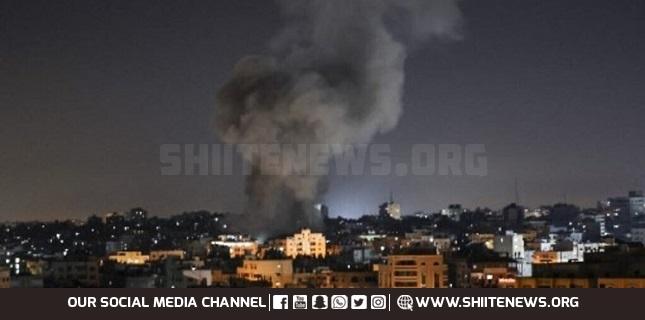 Israeli drones strike central Gaza Strip