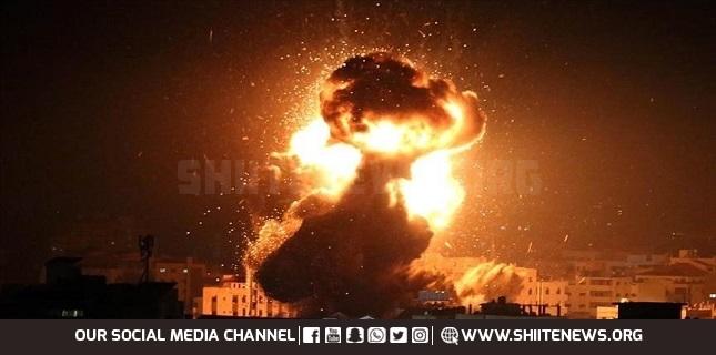 Israeli warplanes launch airstrikes against sites in Gaza Strip