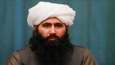Mohammad Naeem, spokesman for the Taliban