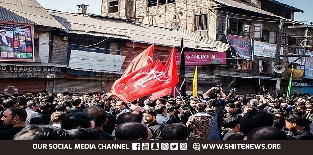 Muslims mark Ashura in Kashmir after police crackdown