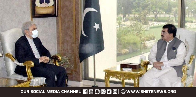 Pakistan intends to enhance cultural and trade relations with Iran, Sanjrani