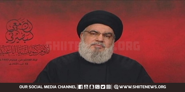 Sayyed Nasrallah: We will Stand Firm in Any War whether Economic or Political