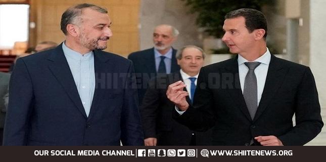 Iran Syria ties
