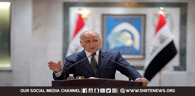 Tehran-Baghdad relations 'strong': Iraqi FM