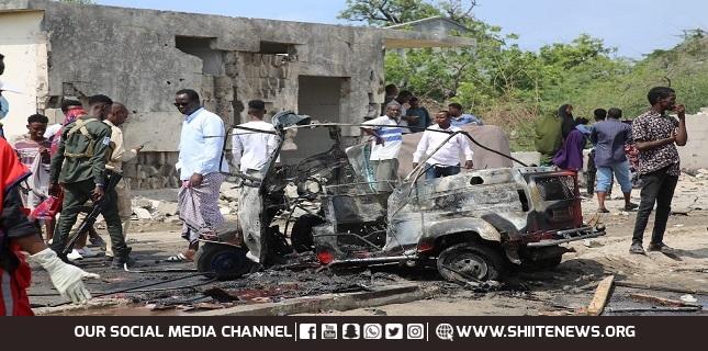 Terrorist blast kills at least two people in Somali capital