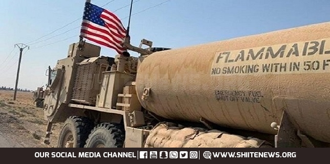 US convoy of 30 tankers crosses into Iraq with smuggled Syrian oil
