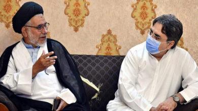 MQM's leadership meets Allama Hassan Zafar to discuss interfaith harmony